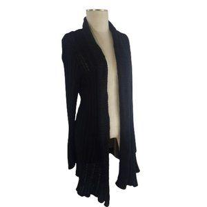 Avenue Long Knit Long Sleeve Cardigan